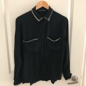 ZARA black shirt